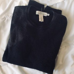 Men's Deep Navy Wool Sweater | H&M (L.O.G.G.)